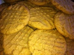 Whole Wheat Peanut Butter Cookies {Dairy Free}