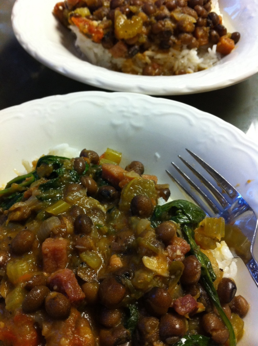 Hoppin' John (A traditional New Year's meal)