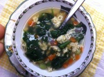 Vegetable Egg Drop Soup