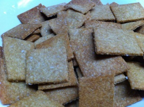 Homemade Wheat Thin – like Crackers