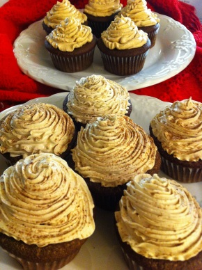 Mocha Cupcakes {can be made dairy free!}