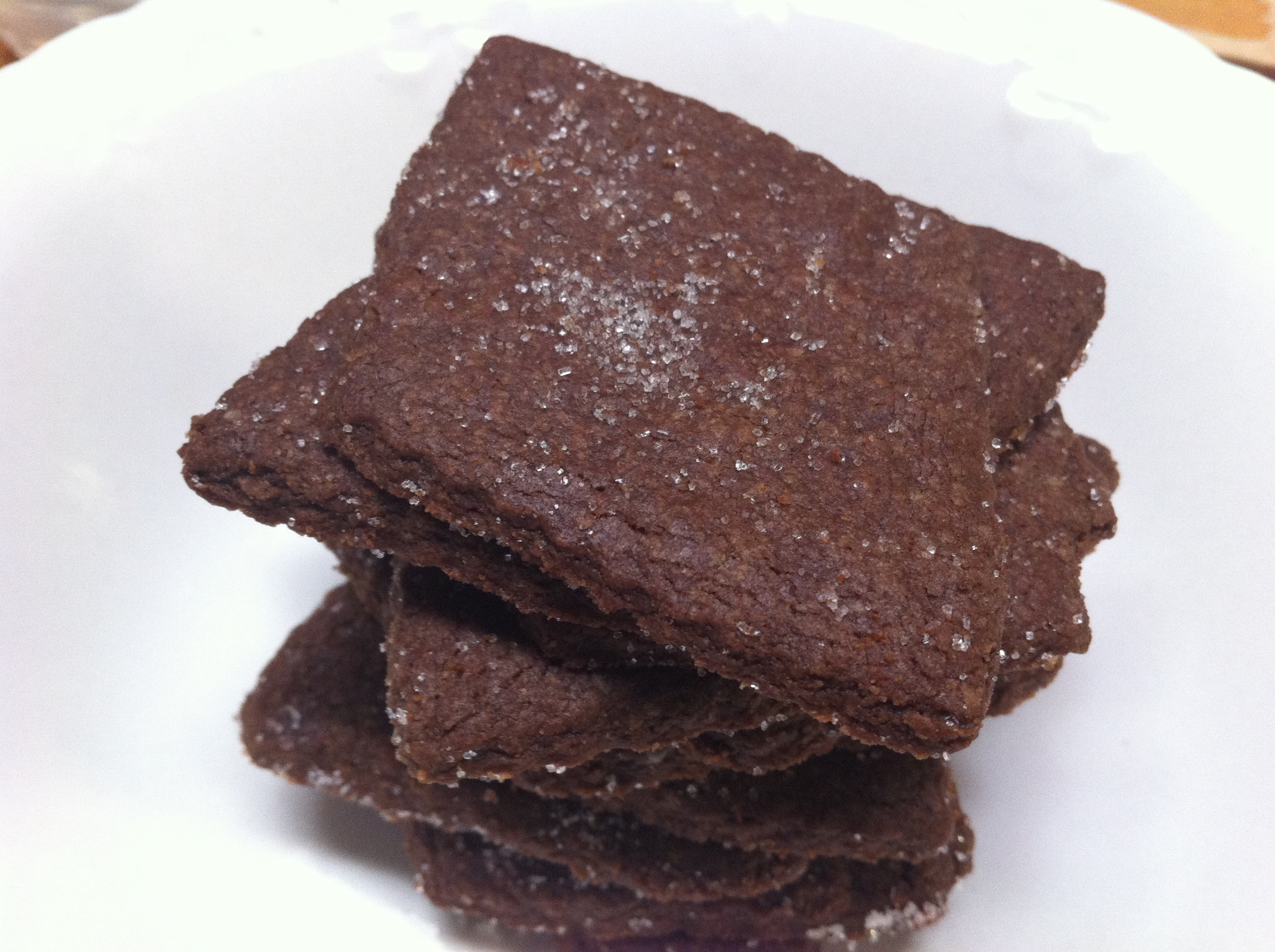 Chocolate Graham Crackers {Dairy Free!} |