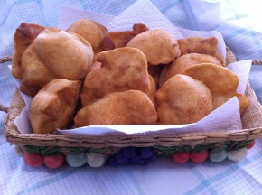 Ojaldas {Panamanian Fried Bread}