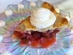 Strawberry Rhubarb Pie {and Grandma's rhubarb pie recipe}