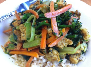 Thai Basil Coconut Curry Stir Fry