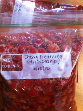 Tart Cherry PieFilling
