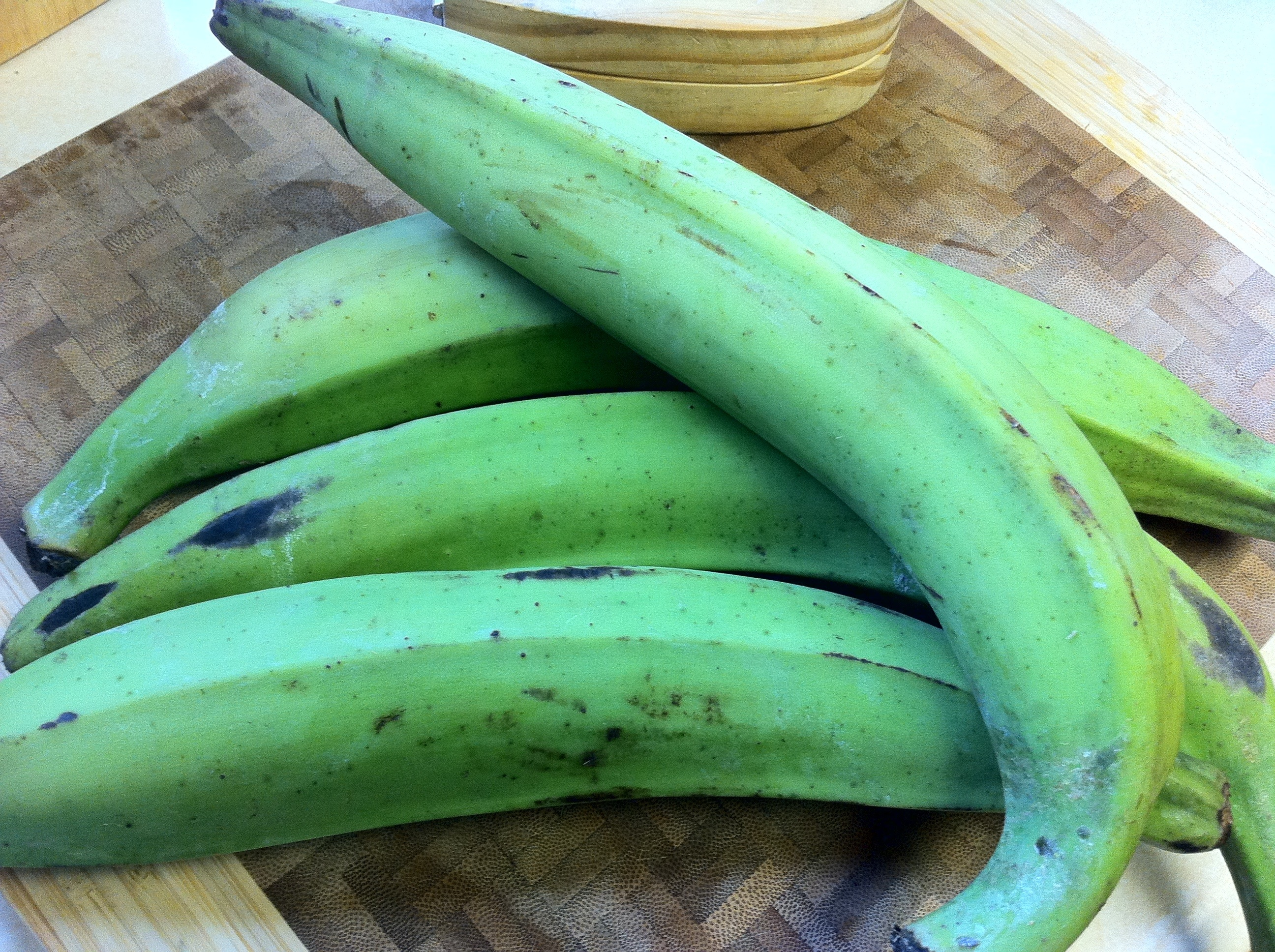 Green Plantains by Food and Word