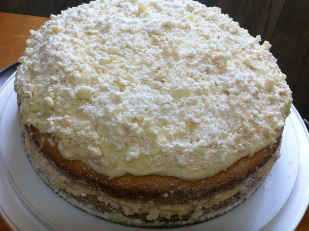 Lemon Cream Cake