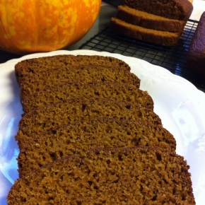 Whole Wheat Pumpkin Cinnamon Bread {Mom's Pumpkin Bread}