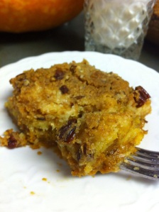 Pumpkin Coconut Milk Dump Cake