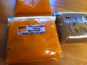 Pumpkin Puree and Pie Filling