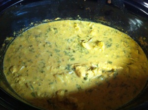 Crockpot Chicken Curry