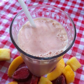 Mixed Fruit Kefir Smoothie