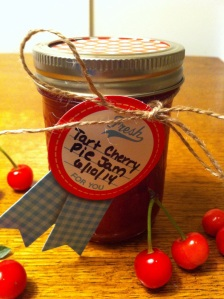 Tart Cherry Pie Jam