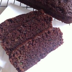 Whole Wheat Chocolate ZucchiniBread