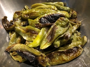 Oven Roasted Hatch GreenChiles